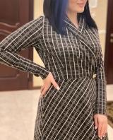 Платье плотный трикотаж