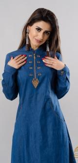 Платье Фариза джинса