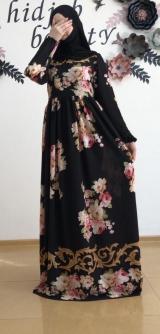 Платье креп-шифон
