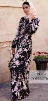 Платье Теона сакура шелк
