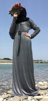 Платье Би-Стрейч с люрексом 4