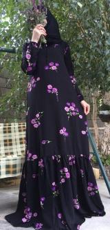 Платье штапель букет