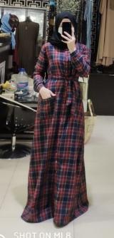 Платье костюмка с шерстью.