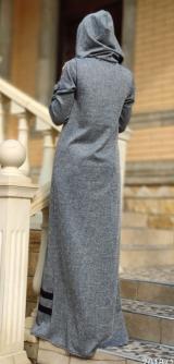 Платье ангора с полосками