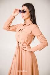 Платье с кулиской софт перси