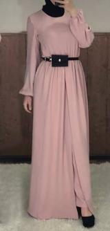 БрБрючный костюм манго розовый