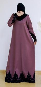 Платье барби-армани розовое