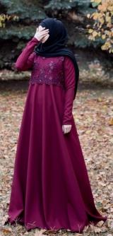 Платье Гипюр с жемчугом