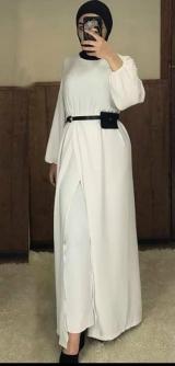 Брючный костюм манго белый