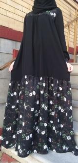 Платье абайное 40-58