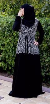 Платье абайное Фатима