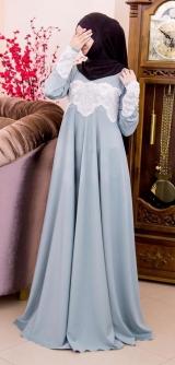 Платье мелиса голубое 2