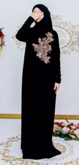 Платье барби с дорогой фурнитурой черное