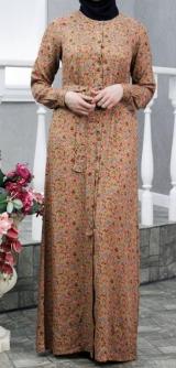 Платье-халат Поляна штапель