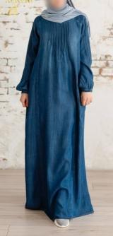 Джинсовое платье до 54разм