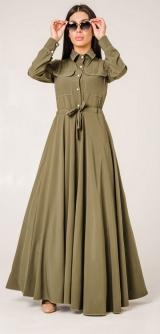 Платье с кулиской софт 1