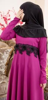 Платье Лиза малина
