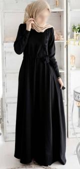 """Платье """"Шарис"""" черное"""