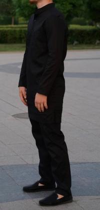 Мужской костюм поплин