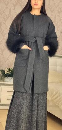 Пальто на подкладе