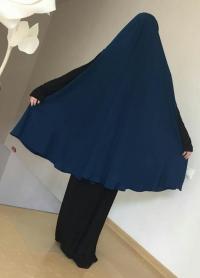 Химар с прорезью синее