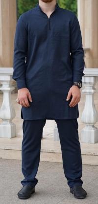 Мужской костюм лен