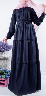 Платье Диза синее