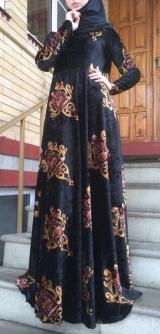 Платье велюр винтаж с 42 по 58разм
