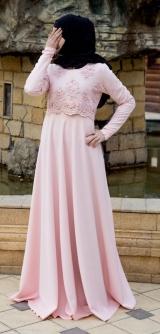 Платье Нежность с жемчугом