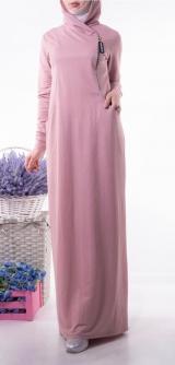 Платье Раида спорт розовое