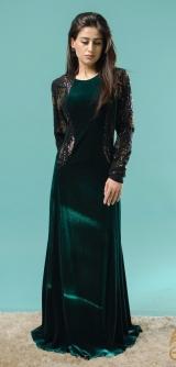 Платье Каролина изумруд