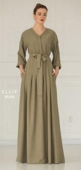 Платье Италия сафари