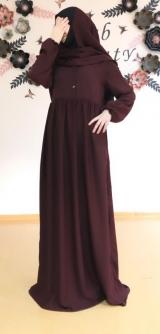 Химар и платье бордо