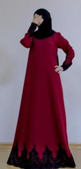 Платье барби-армани бордо