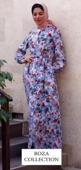 Платье-халат 3Д
